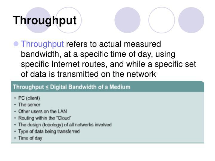Throughput
