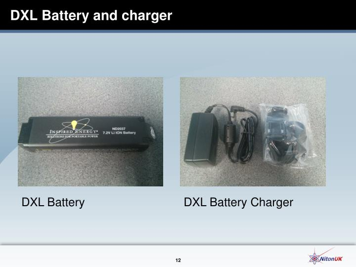 DXL Battery and charger
