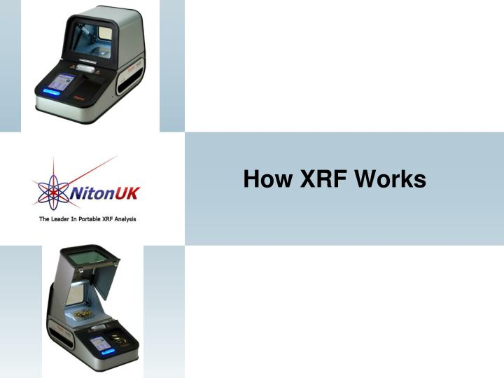 How XRF Works