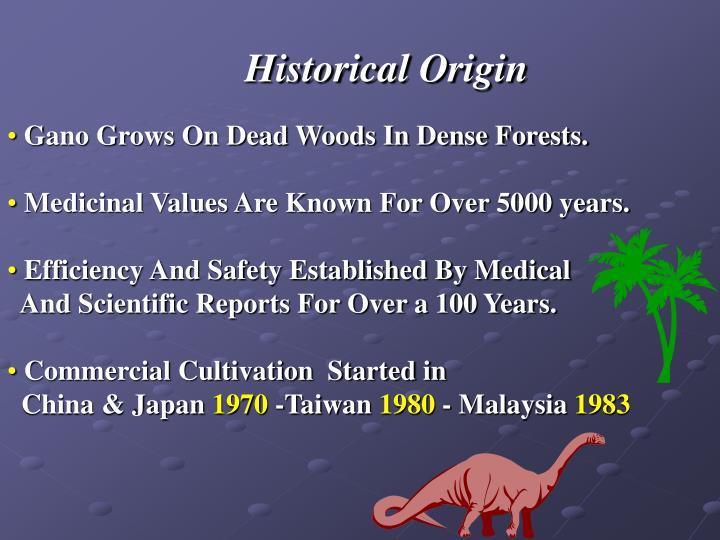 Historical Origin