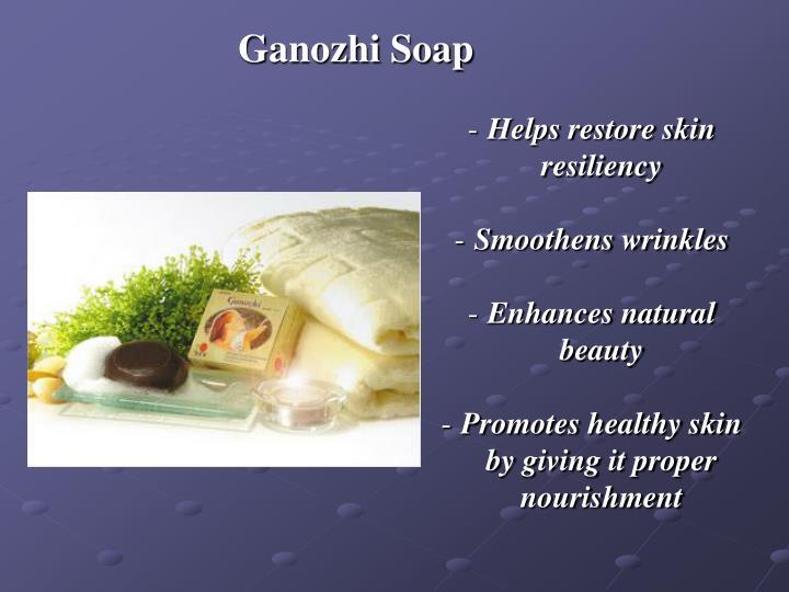 Ganozhi Soap