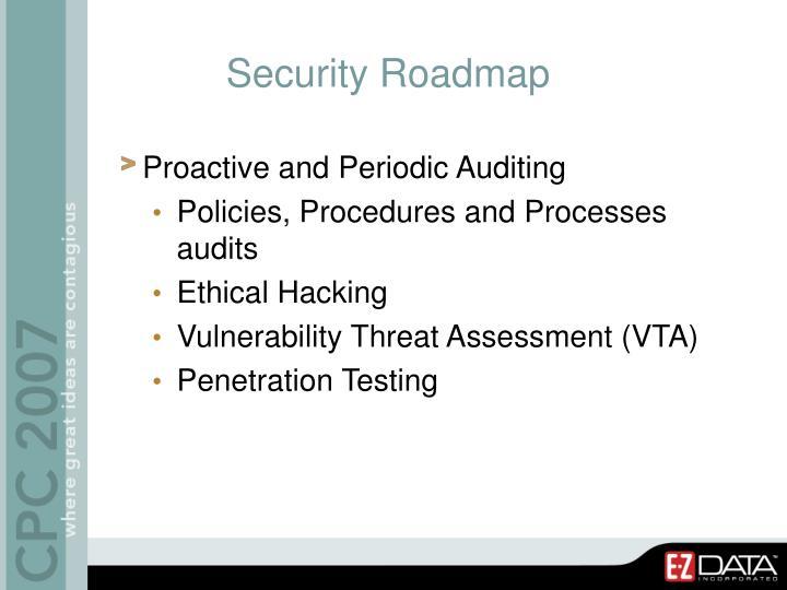 Security Roadmap
