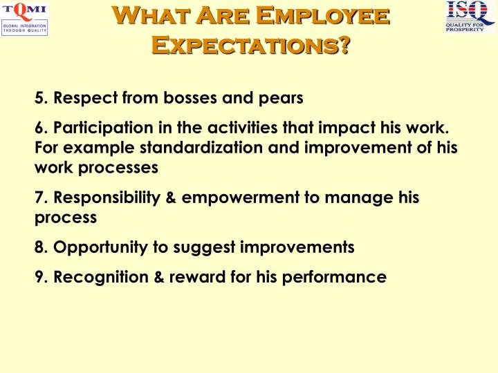 What Are Employee Expectations?