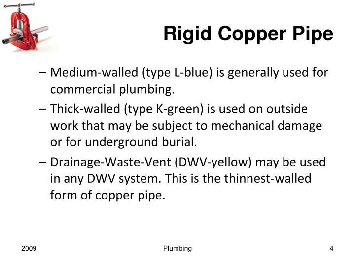Rigid Copper Pipe
