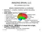 amazing brain llc the learning solution2
