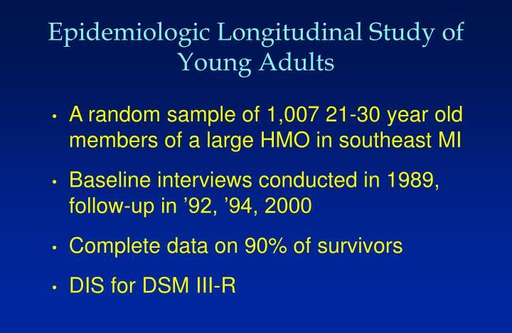 Epidemiologic Longitudinal Study of