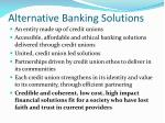 alternative banking solutions