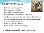 community 2015