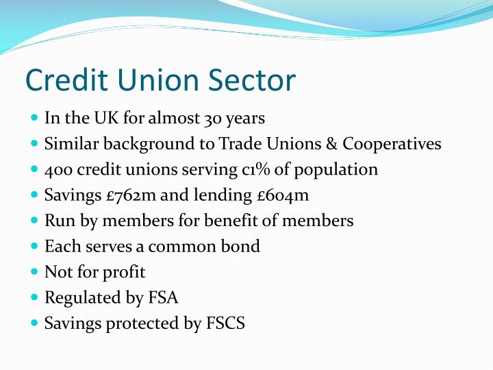 Credit Union Sector