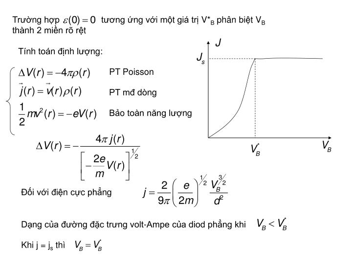 Trường hợp                 tương ứng với một giá trị V*