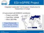 egi inspire project