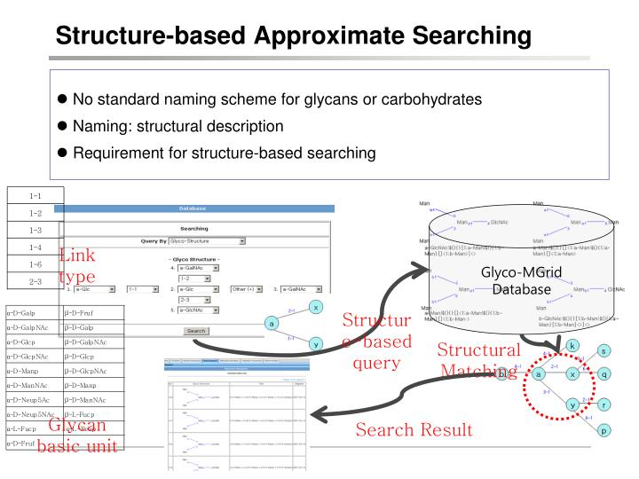Structure-based Approximate Searching