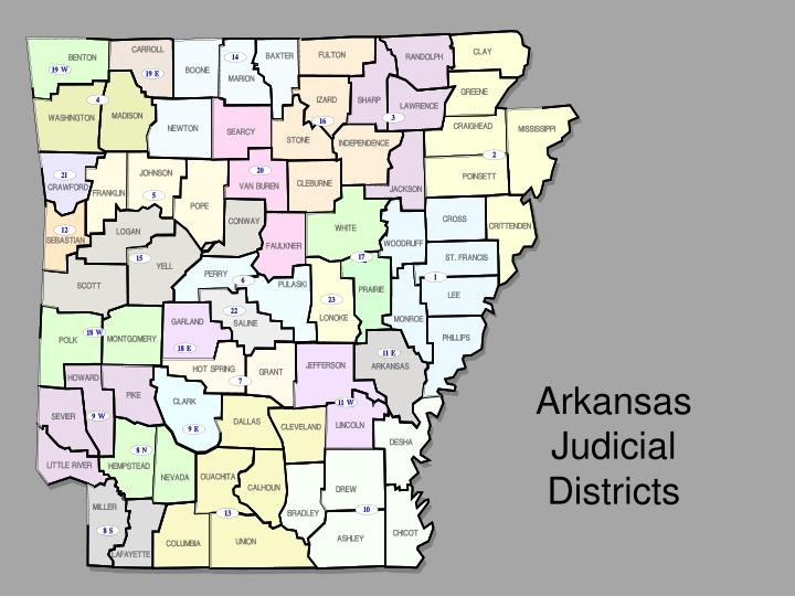 Arkansas Judicial Districts