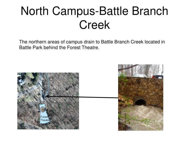 North Campus-Battle Branch Creek