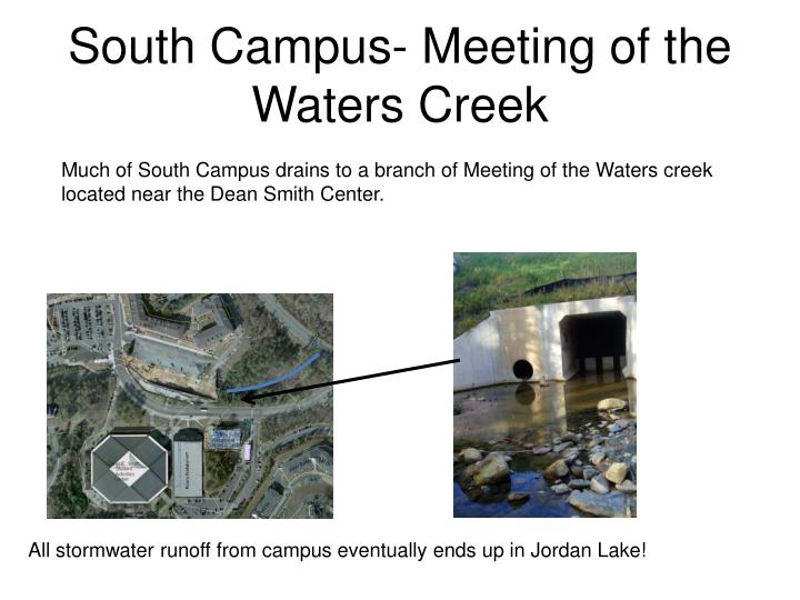 South Campus- Meeting of the Waters Creek