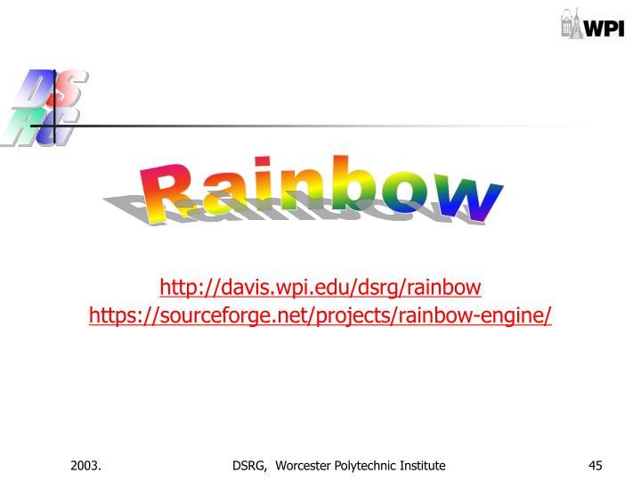 http://davis.wpi.edu/dsrg/rainbow