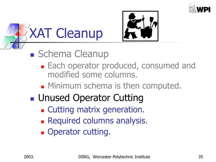 XAT Cleanup