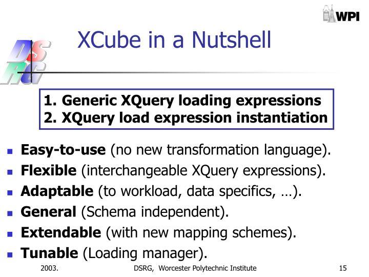 XCube in a Nutshell