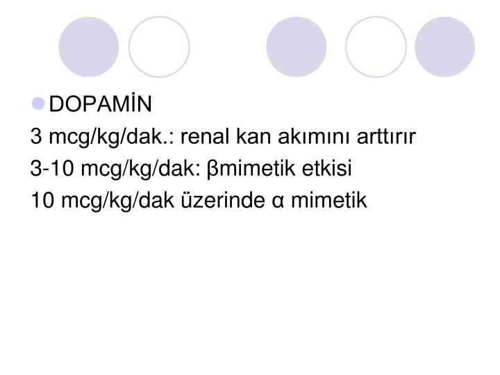 DOPAMİN