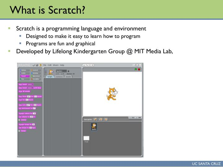 What is scratch