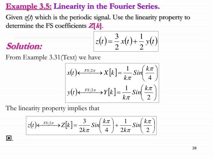 Example 3.5:
