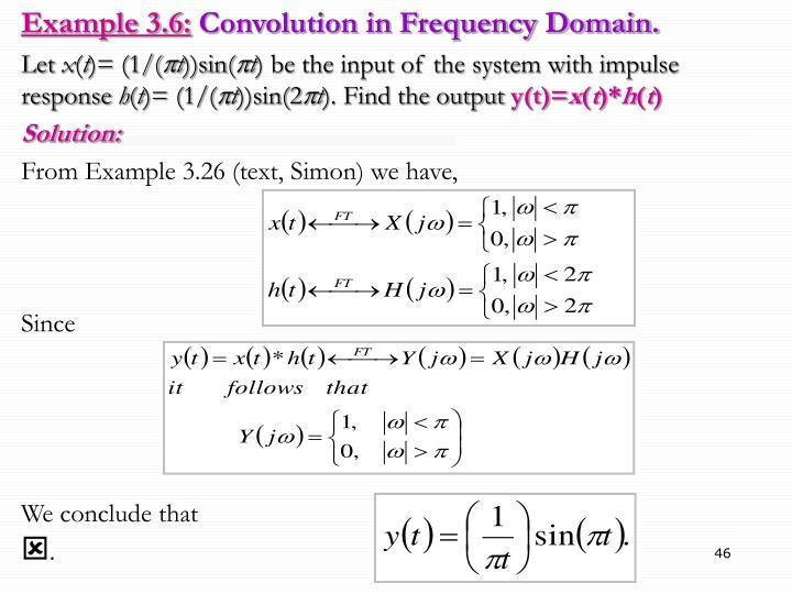 Example 3.6: