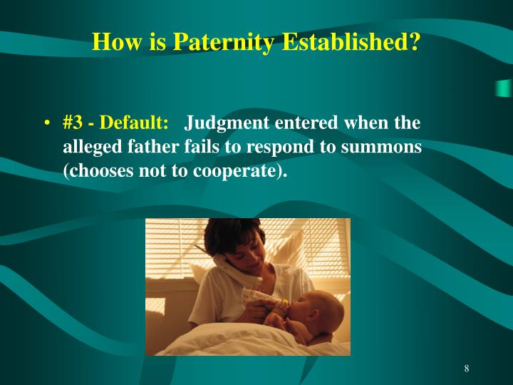 How is Paternity Established?