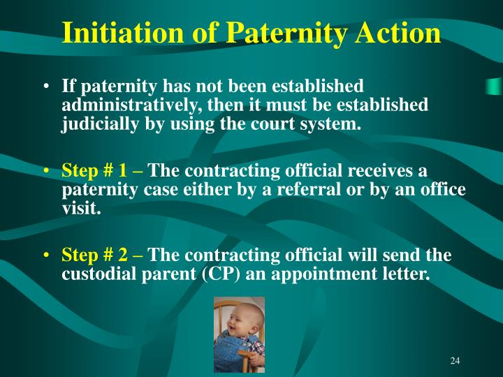 Initiation of Paternity Action
