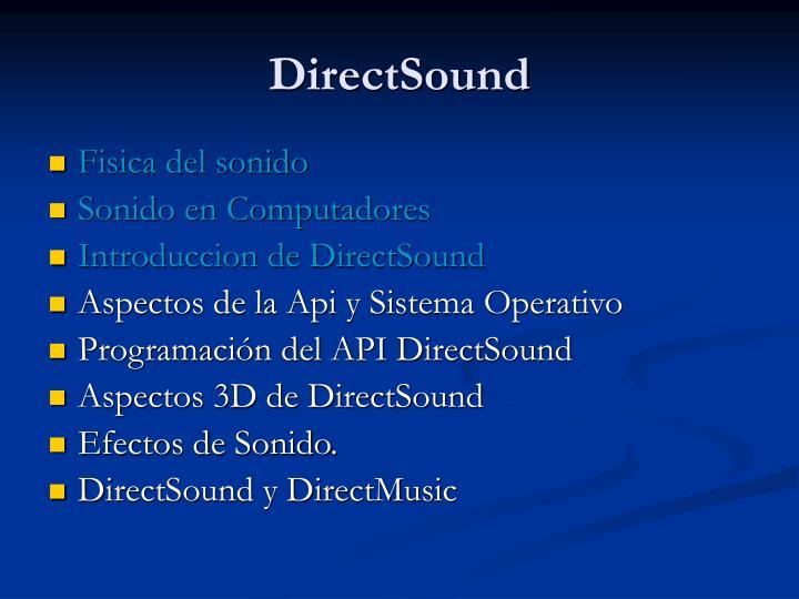 DirectSound