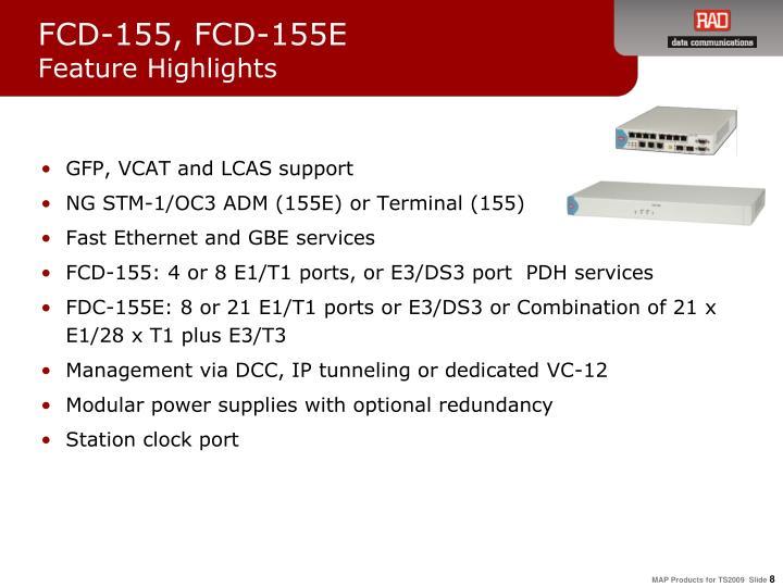 FCD-155, FCD-155E