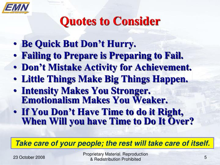 Quotes to Consider