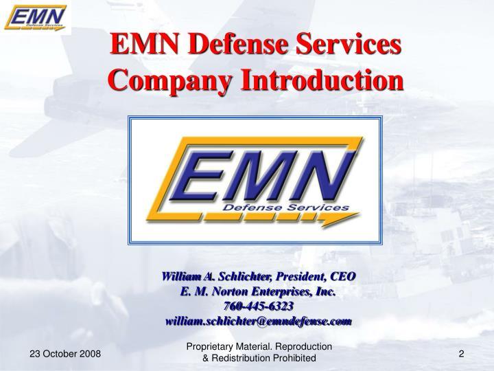 EMN Defense Services