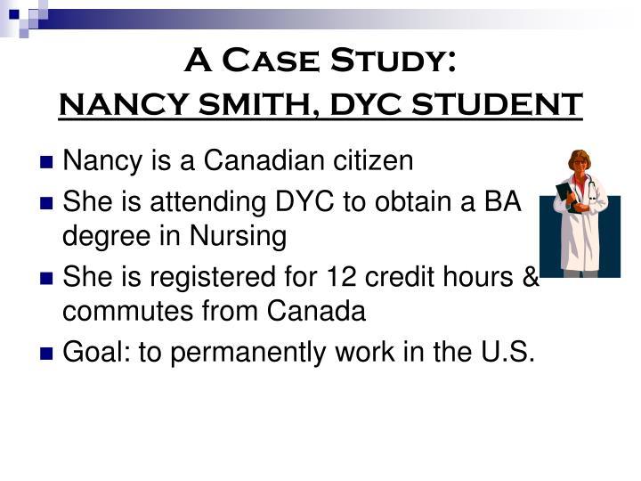 A Case Study: