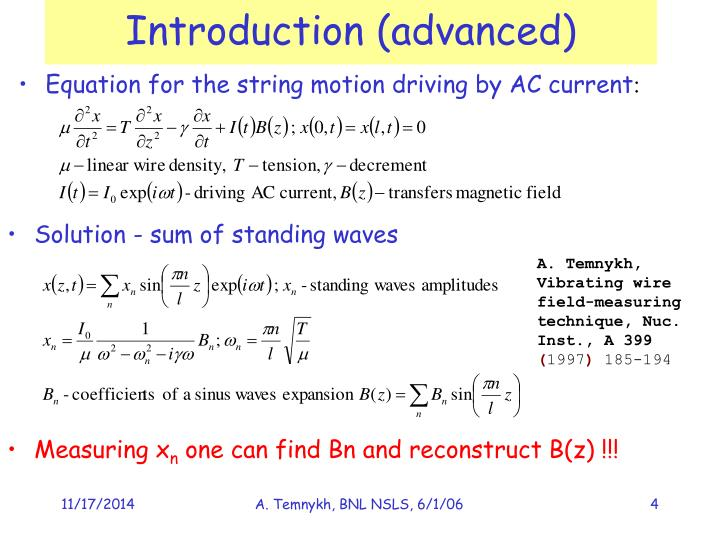 Introduction (advanced)