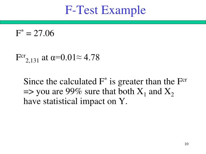 F-Test Example