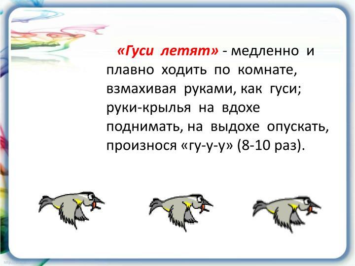 «Гуси  летят»