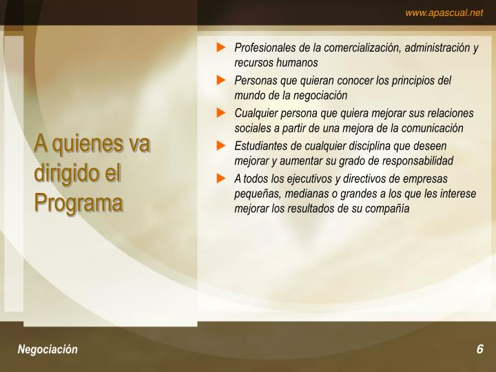 Profesionales de la comercialización, administración y recursos humanos