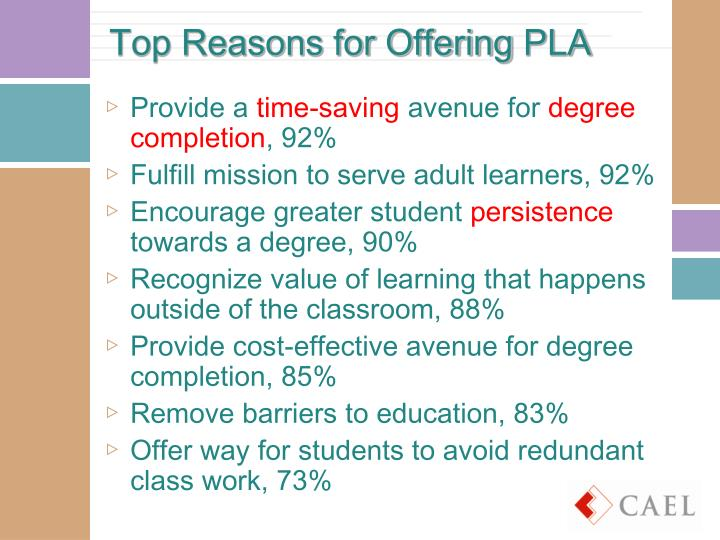 Top Reasons for Offering