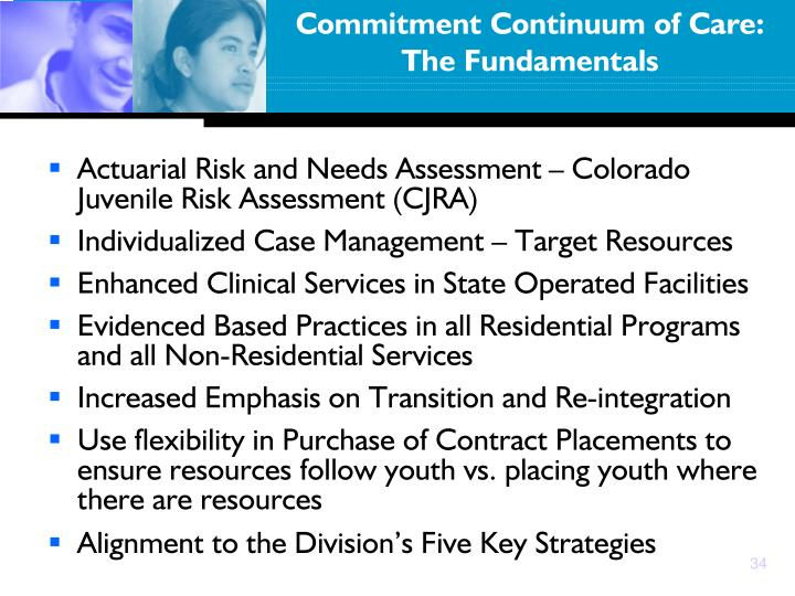 Commitment Continuum of Care: