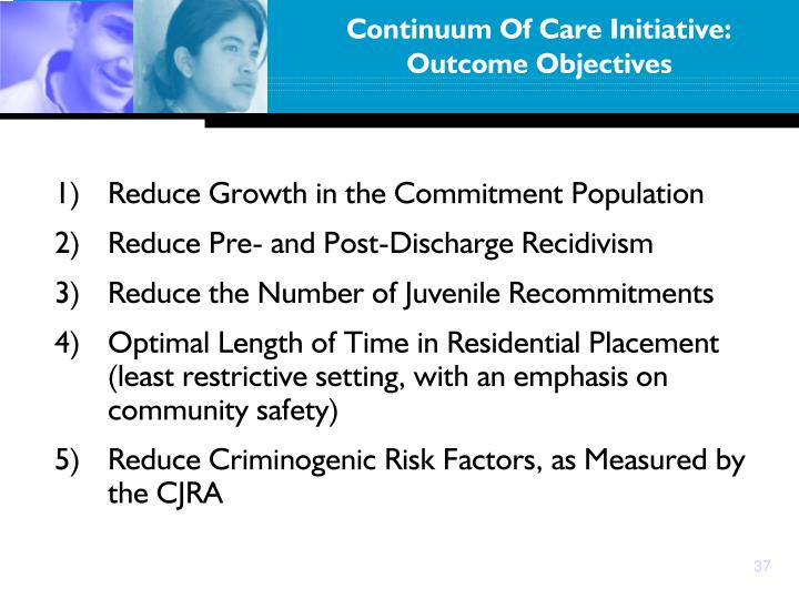 Continuum Of Care Initiative: