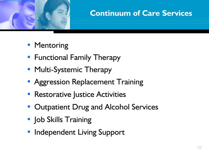 Continuum of Care Services