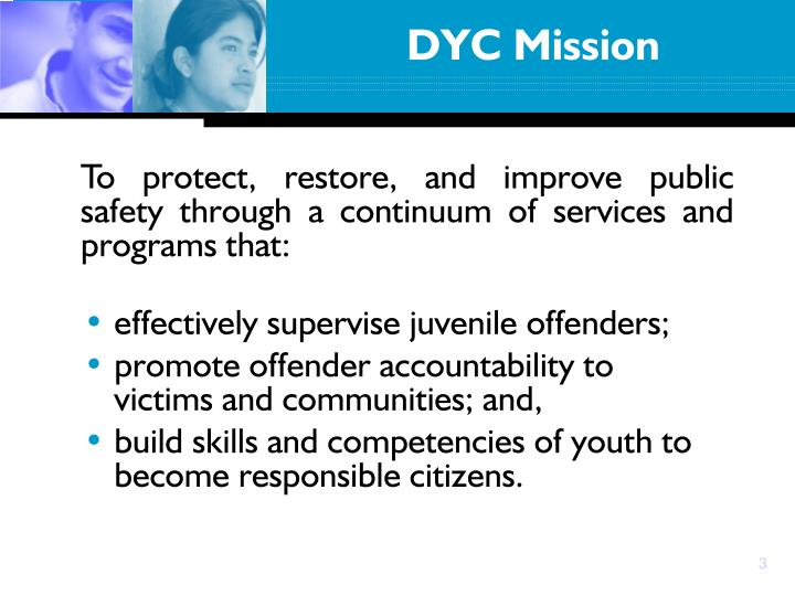 effectively supervise juvenile offenders;