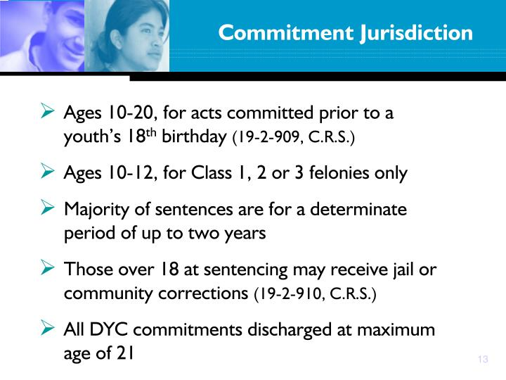 Commitment Jurisdiction