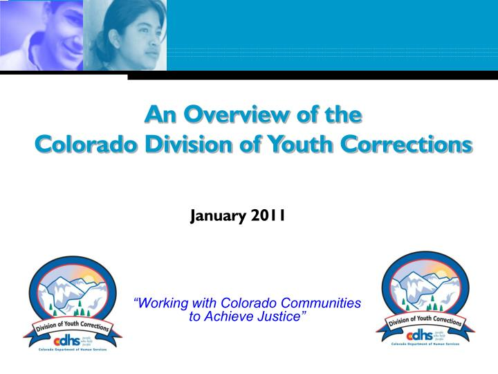 Working with colorado communities to achieve justice