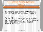 d simple antiderivatives motion1