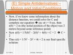 e simple antiderivatives motion and initial conditions1