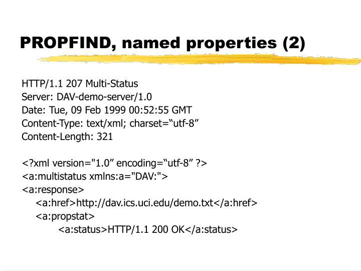 PROPFIND, named properties (2)
