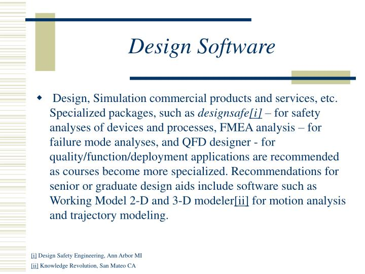 Design Software