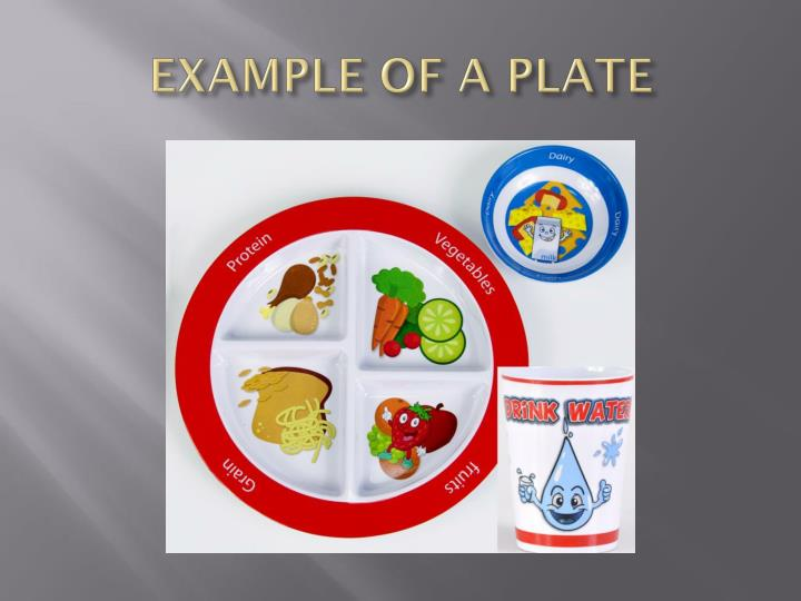 EXAMPLE OF A PLATE