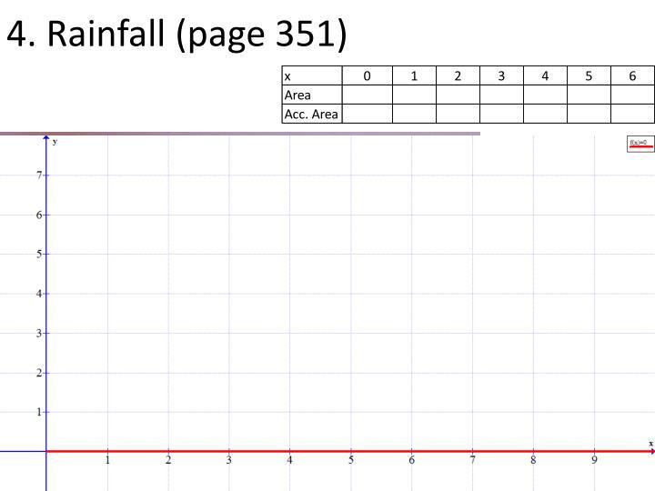 4. Rainfall (page 351)